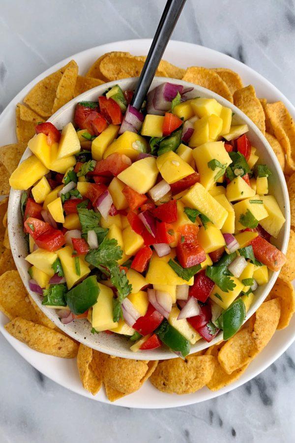 The Best Summery Mango Salsa