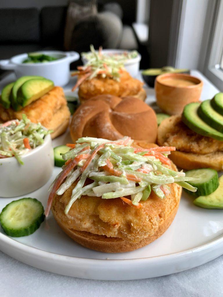 Healthy Gluten-free Crispy Chicken Sandwiches!