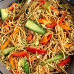 healthy lo mein