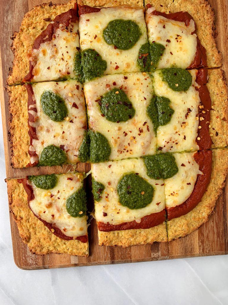 gluten free cauliflower crust