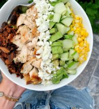 Seriously Good Chicken Cobb Salad (gluten-free)