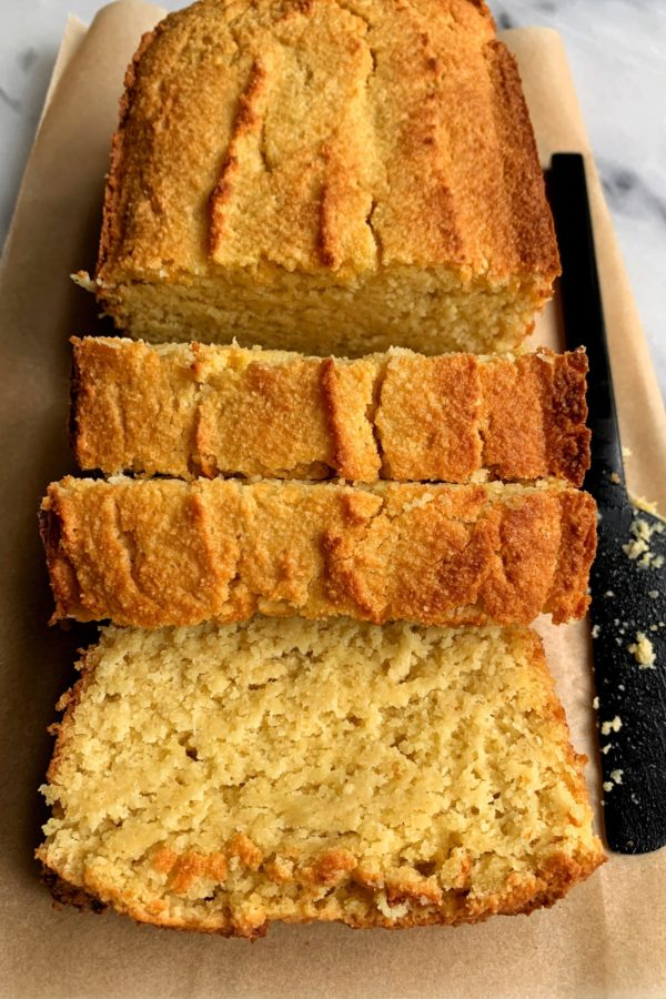 The Best Ever Paleo Pound Cake