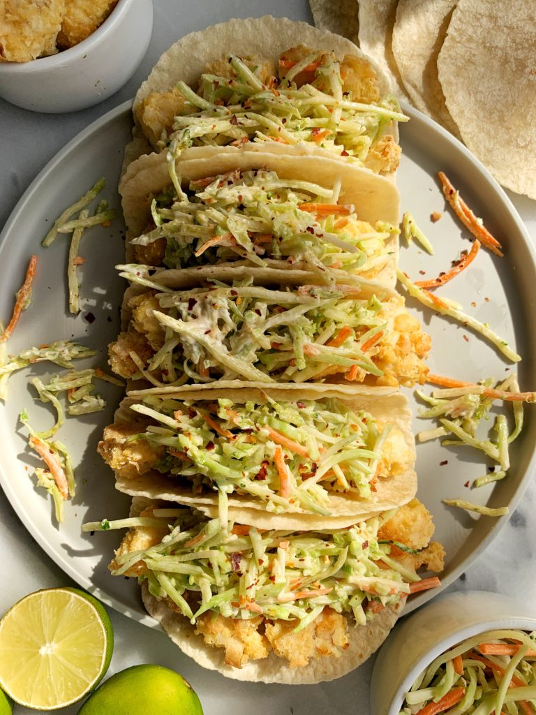 The Best Crispy Oven-Baked Paleo Fish Tacos