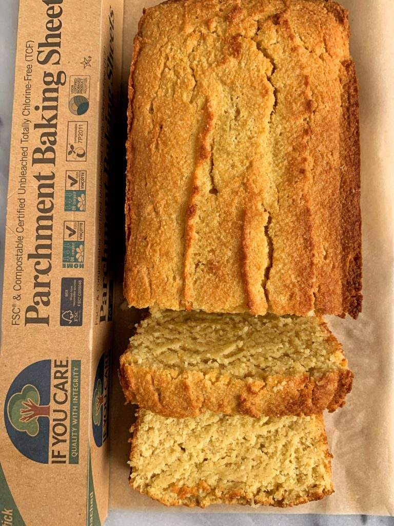 gluten free paleo poundcake