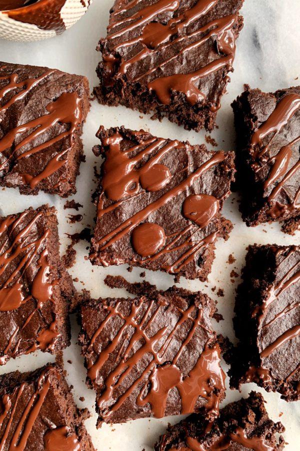 The Best Ever Flourless Paleo Pumpkin Brownies