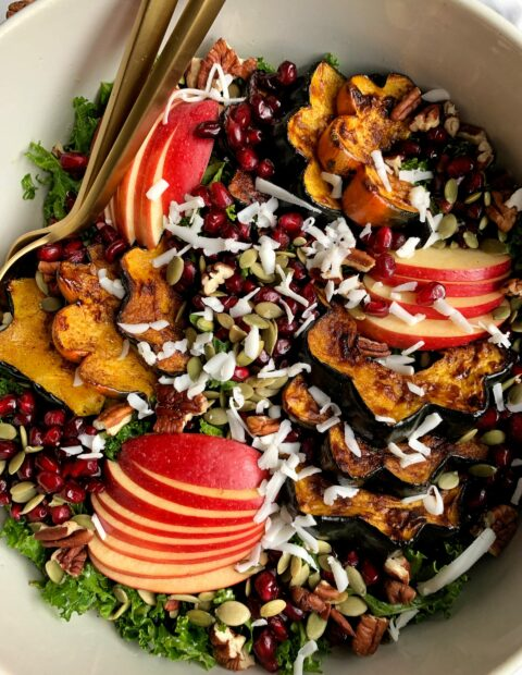 The Ultimate Healthy Harvest Salad (gluten-free)