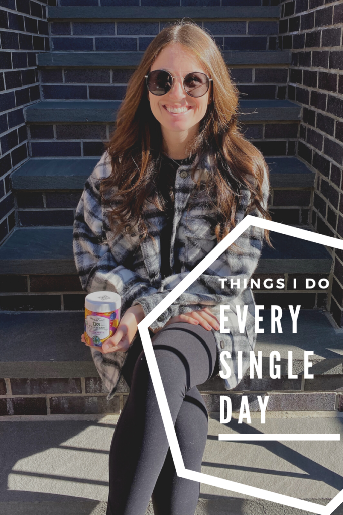 Non-Negotiable Things I Do Every Single Day