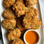 These Paleo Veggie Chicken Nuggets are the ultimate recipe to make! They are absolutely delicious, so easy to make in the oven and they are 100% kid approved over here.