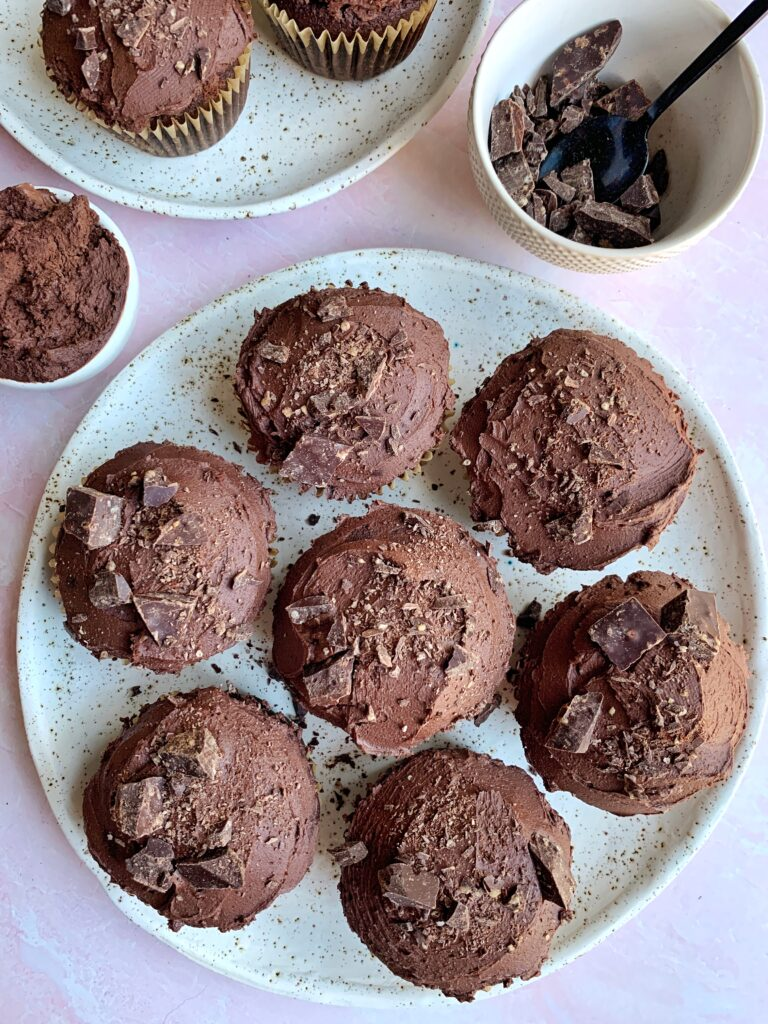 Damn Good Paleo Chocolate Cupcakes Recipe made with all gluten-free and dairy-free ingredients. Better than the boxed mix and ready in just 20 minutes!