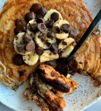 Quick and Easy Gluten-free Pancake for One!