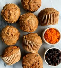 The Best Ever Vegan Morning Glory Muffins (gluten-free)