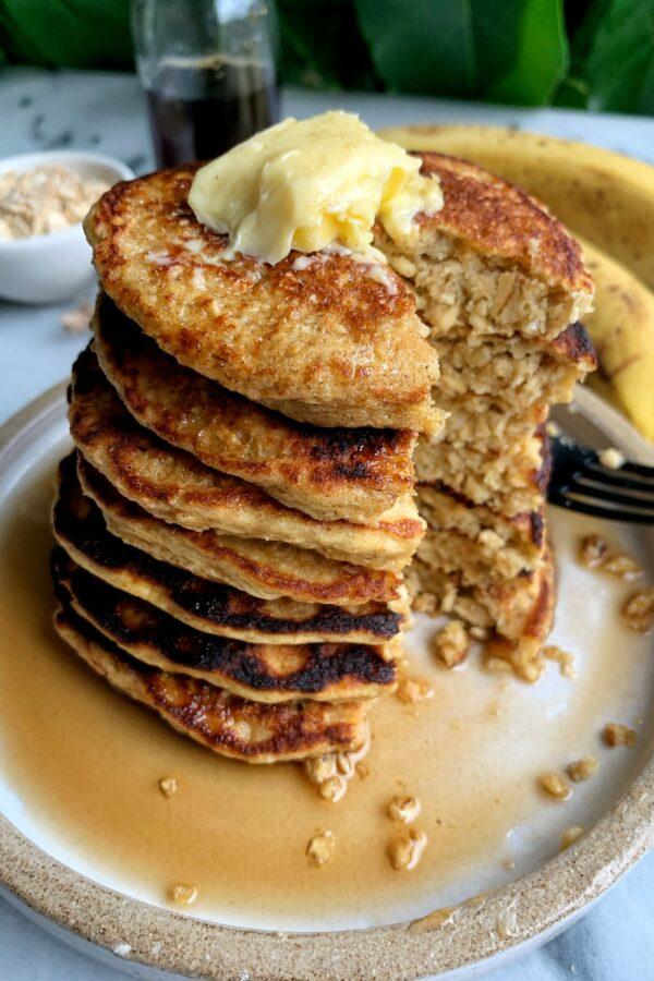 The Easiest Gluten-free Yogurt Pancakes