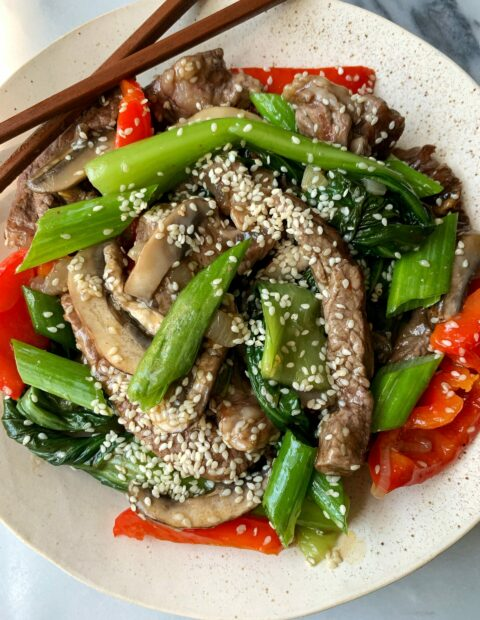 The Most Delicious 20-minute Paleo Beef Stir Fry
