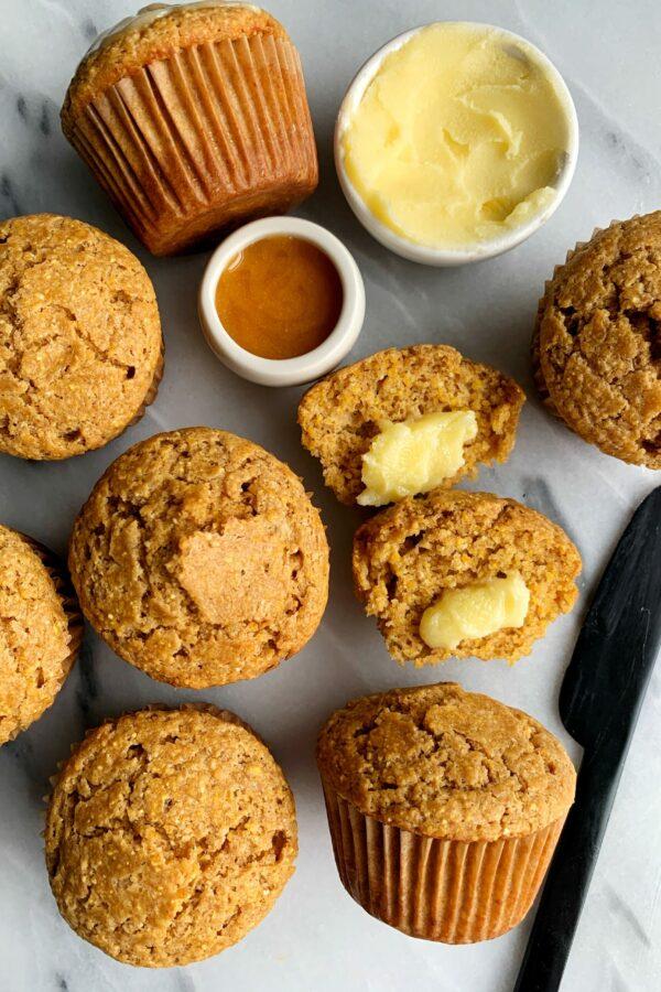 The Best Ever Gluten-free Cornbread Muffins