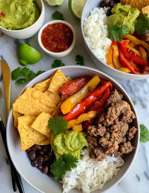 20-minute Healthy Burrito Bowls!
