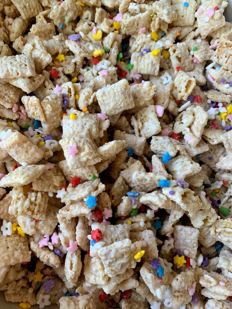 INSANE Funfetti Puppy Chow Recipe!