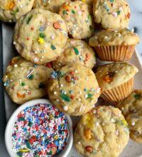 Copycat Little Bites Party Cake Muffins