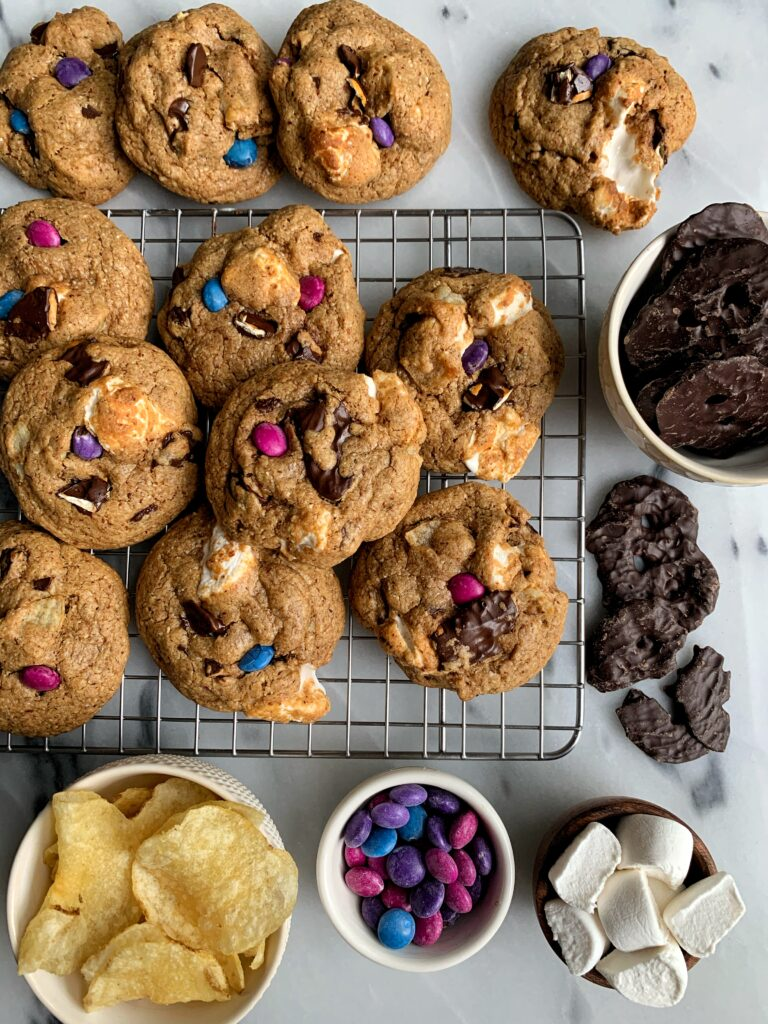 The Everything You Are Craving COOKIES! These cookies are literally everything you could ever crave in one perfectly baked cookie. Think of these as a healthier kitchen sink cookie but even better.