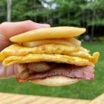 Let's make a healthier copycat McDonald's McGriddle everybody. So simple and easy to make plus our version is gluten-free and a game changer for all my breakfastsandwich loving friends.