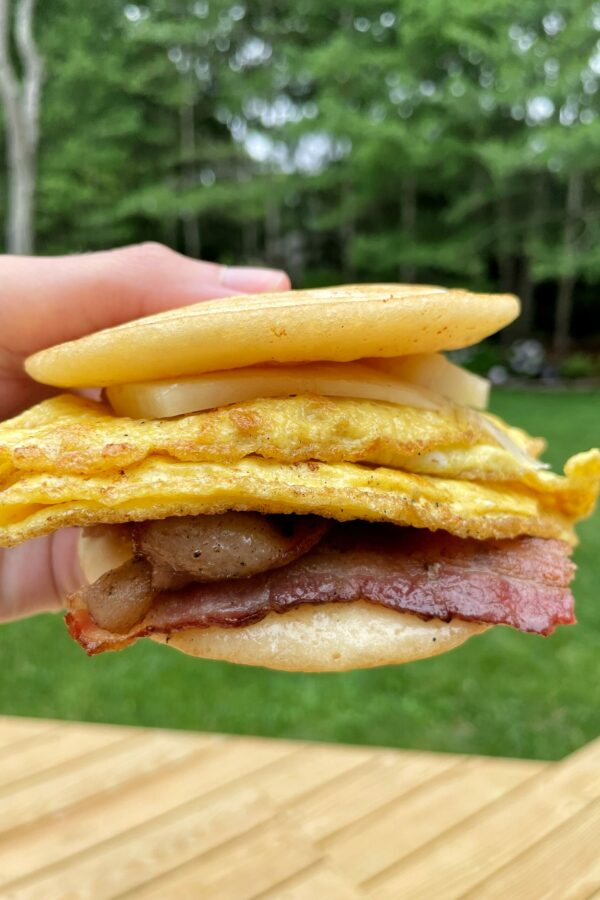 Healthier Copycat McDonald's McGriddle!