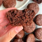 Homemade copycat Little Bites BROWNIES everybody! These are a healthier twist on the childhood staple and they're gluten-free and nut-free and so easy to make.