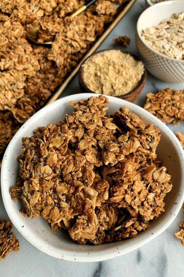 The Best Nut-free Granola with Clusters