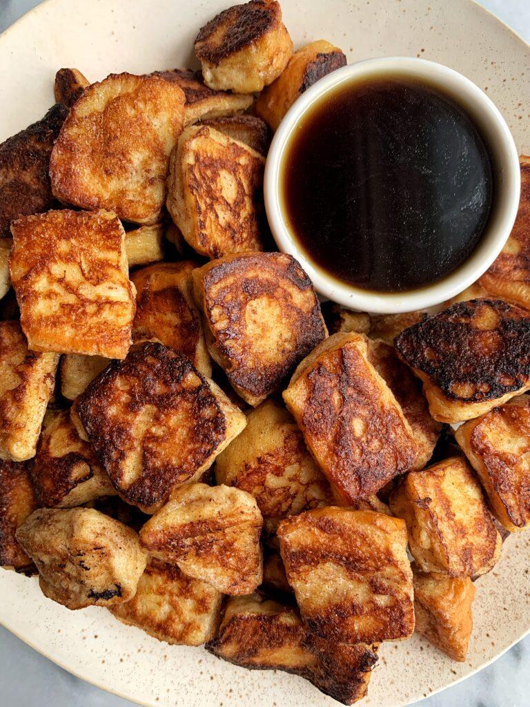 Crazy Good Mini French Toast Bites